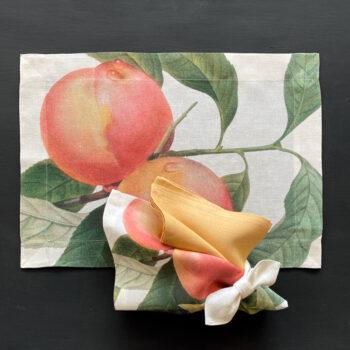 individual y servilleta fruit love 3 - La Bottega di Casa