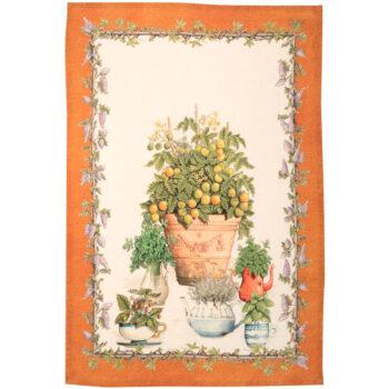 strofinaccio Balcon Arancio - La Bottega di Casa